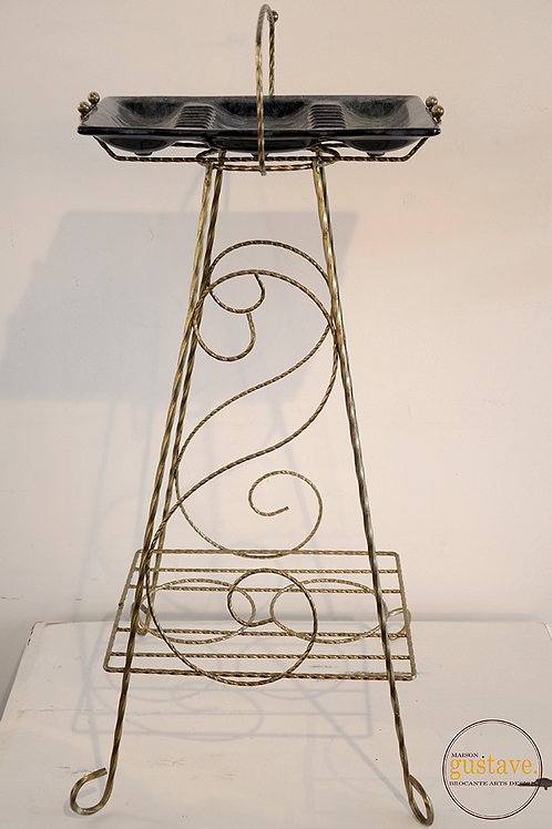 Cendrier sur pied Céramique de Beauce