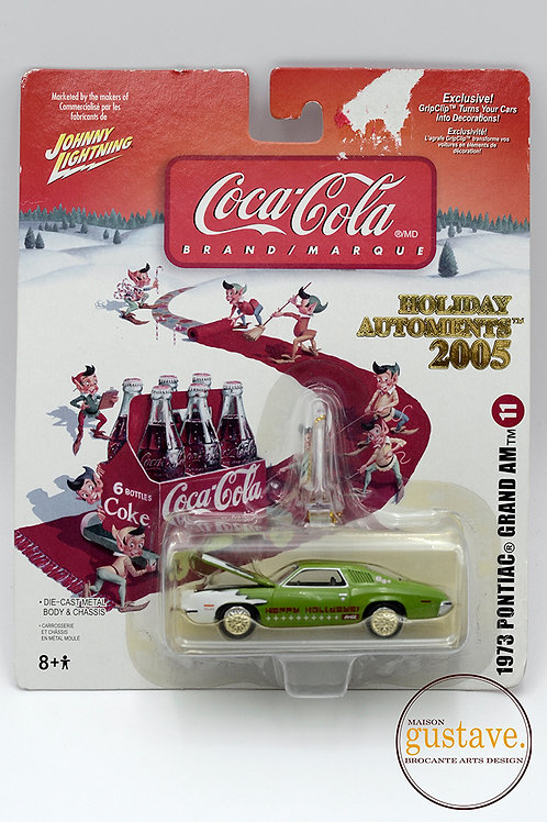 Ornement de Noël  Coca-Cola 1973 Pontiac Grand Am