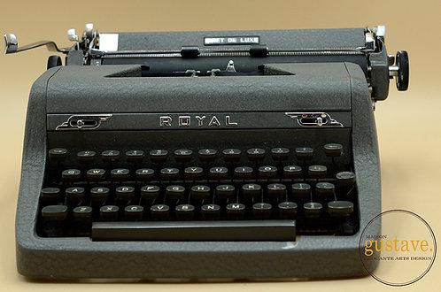 Machine à écrire Royal - Quiet de luxe circa 1950