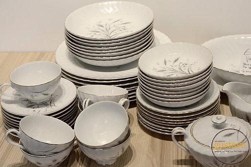 8 couverts - porcelaine fine