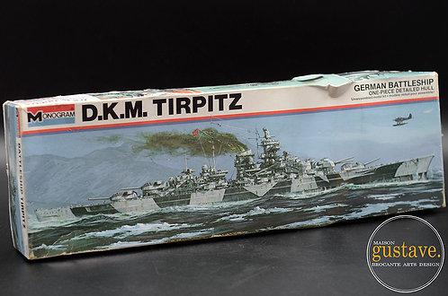 Monogram D.K.M. Tirpitz