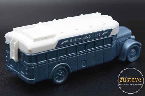 Cologne Avon en forme d'autobus Greyhound
