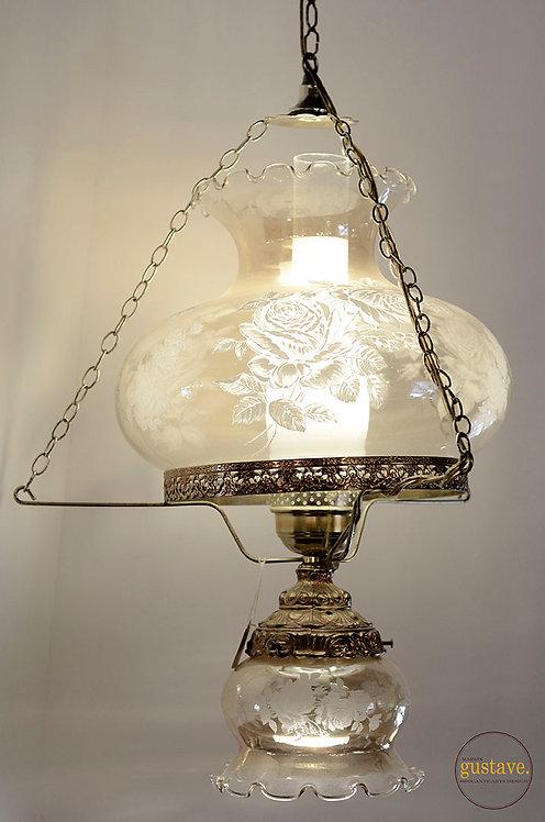 Luminaire suspendu en verre