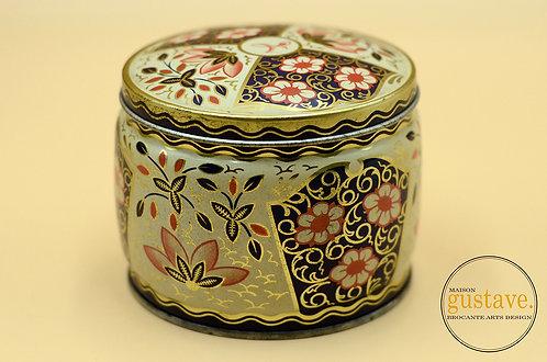 Boîte de thé vintage en métal