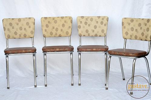 Ensemble de chaises vintage