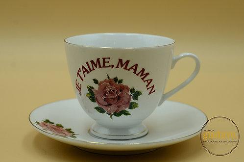 Tasse Je t'aime, Maman
