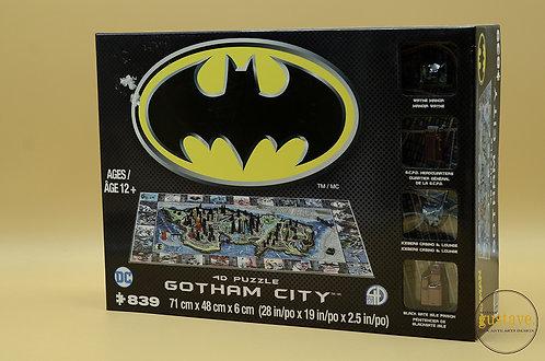 Casse-têtes 4D Gotham City NEUF