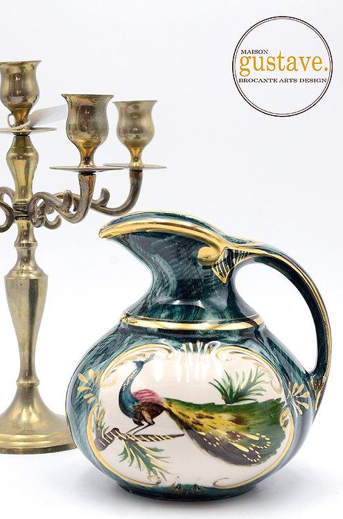Pichet en porcelaine Henri Bequet