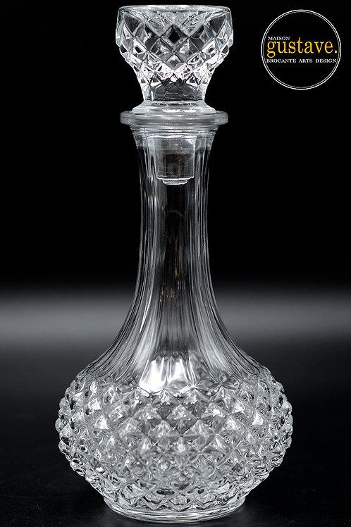 Carafe en cristal pointe de diamant