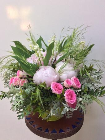 Bouquet pour le fête du travail par Le Kiosque à Fleurs Marrakech | Catherine Villier