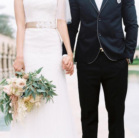 Bridal bouquet by Le Kiosque à Fleurs Marrakech   Catherine Villier