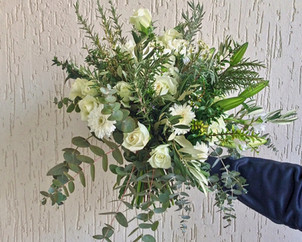 Bouquet standard blanc