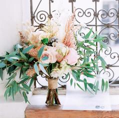 Bridal bouquet by Le Kiosque à Fleurs Marrakech | Catherine Villier