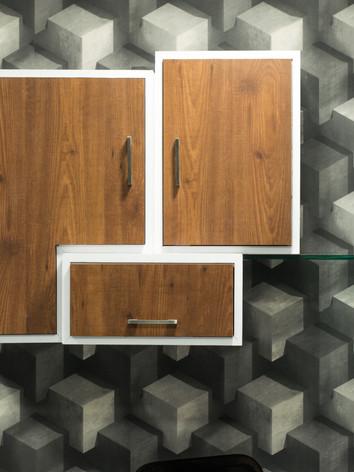 Work station 01 : Shelves