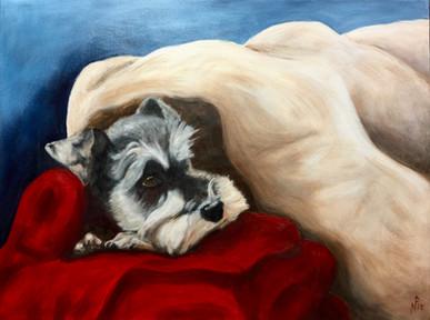 #1804 - Hilda - Snuggling Forever :-)