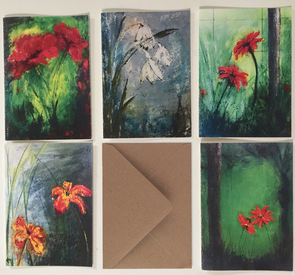 Greeting Cards from Bloomin' Landscape series