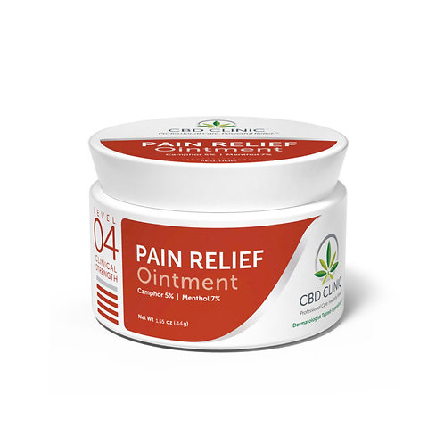 Pain Relief Ointment – Level 4 – 44g Jar
