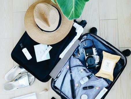 8 itens que não podem faltar na sua mala de férias
