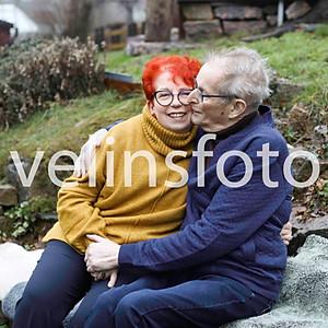 Lena & Peter med familj