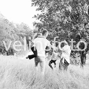 Oskar Björk med familj