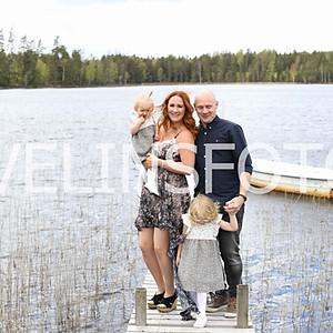 1.Anna Börjesson med familj