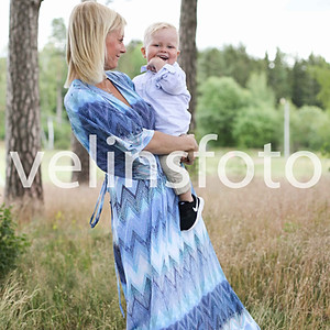 Rebecka & Mattias med familj