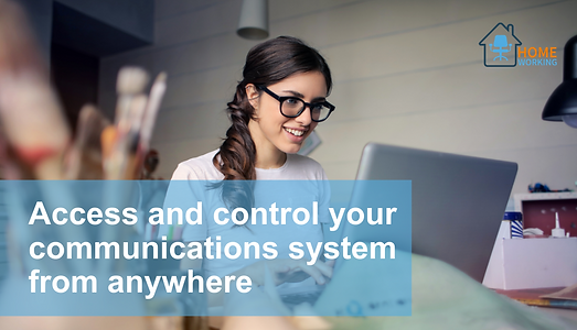 Access and control your communications s