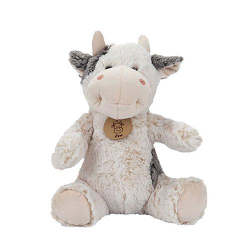 "9"" Cream Grey Cow"