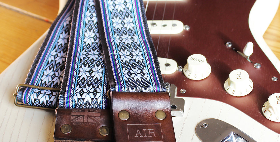 "Ltd Ed ""Norwegian Wood"" Strap"