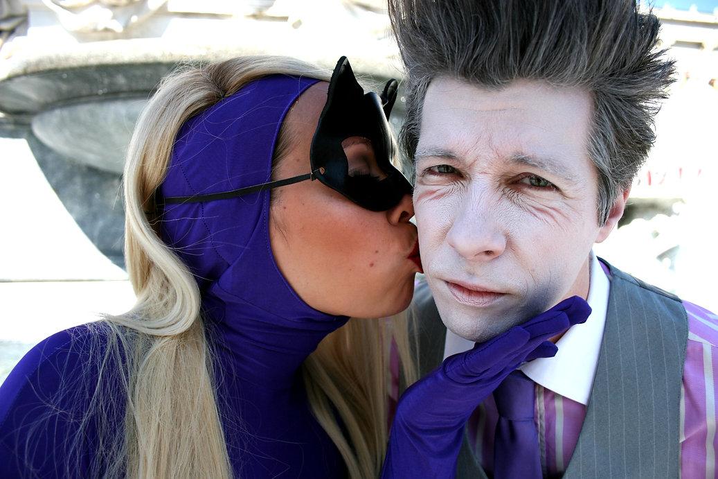Catwoman & Joker, true love, true romance, supervillains