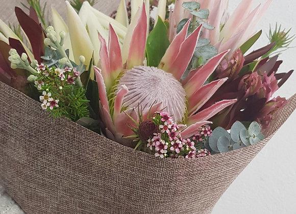 Seasonal Protea Posy