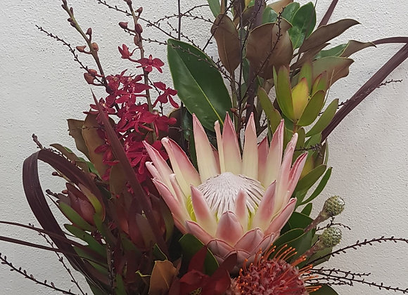 King Protea & Orchid Arrangement