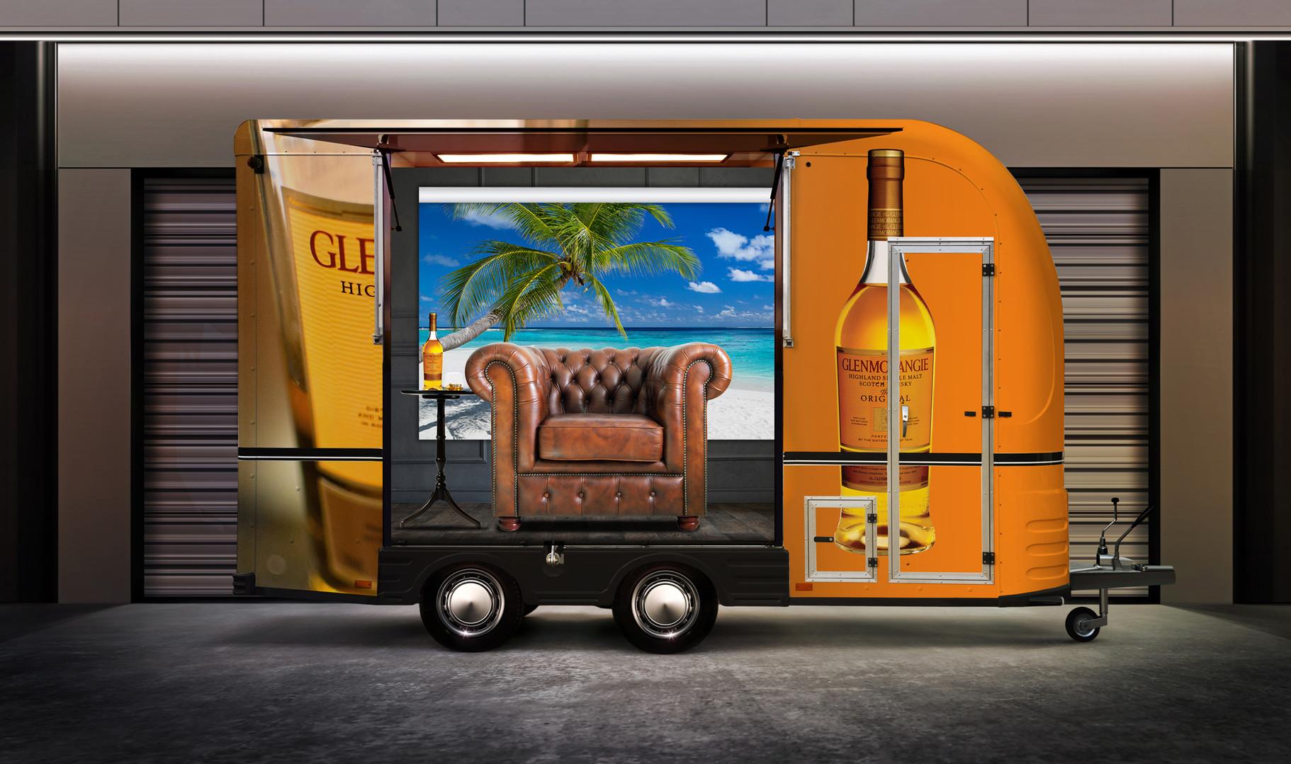 Glenmorangie Scotch Mobile Scotch Trailer