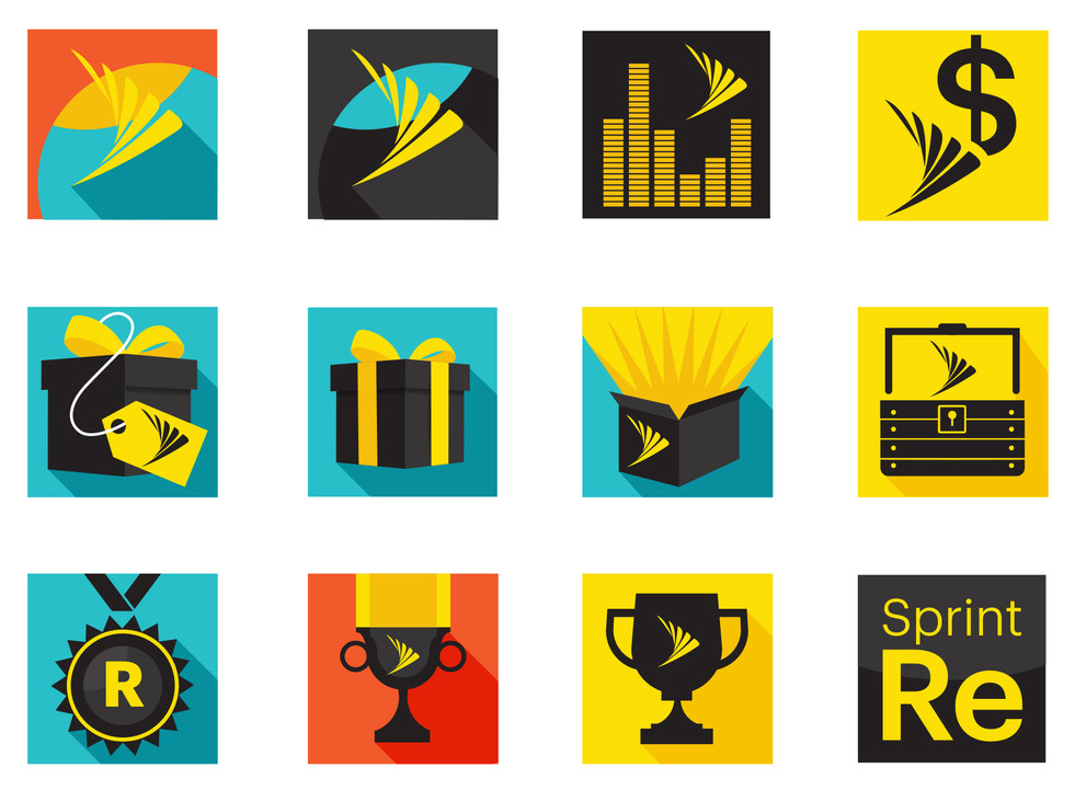 Sprint Icons