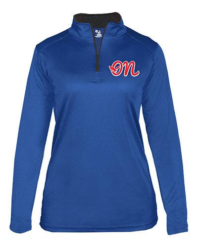 Ladies ON Quarter Zip Pullover