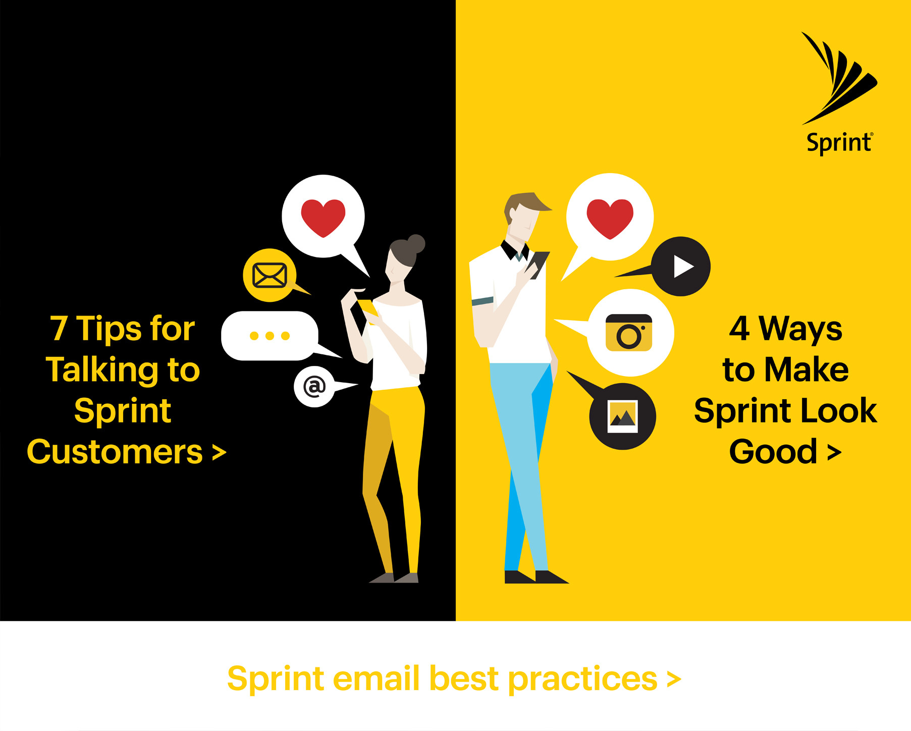 Sprint Email Best Practices