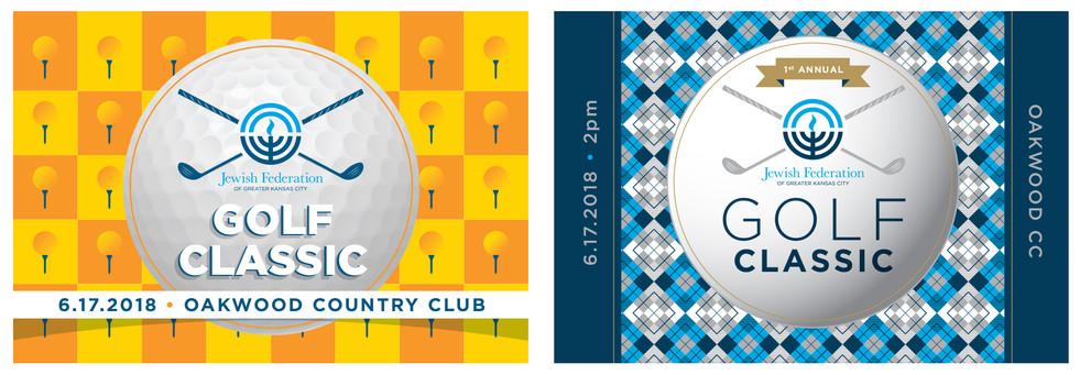 Golf Classic Event Postcard