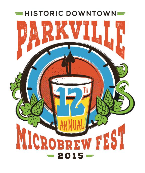 Parkville 2015 Microbrew Fest Logo