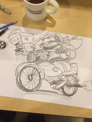 Motorcycle Viking