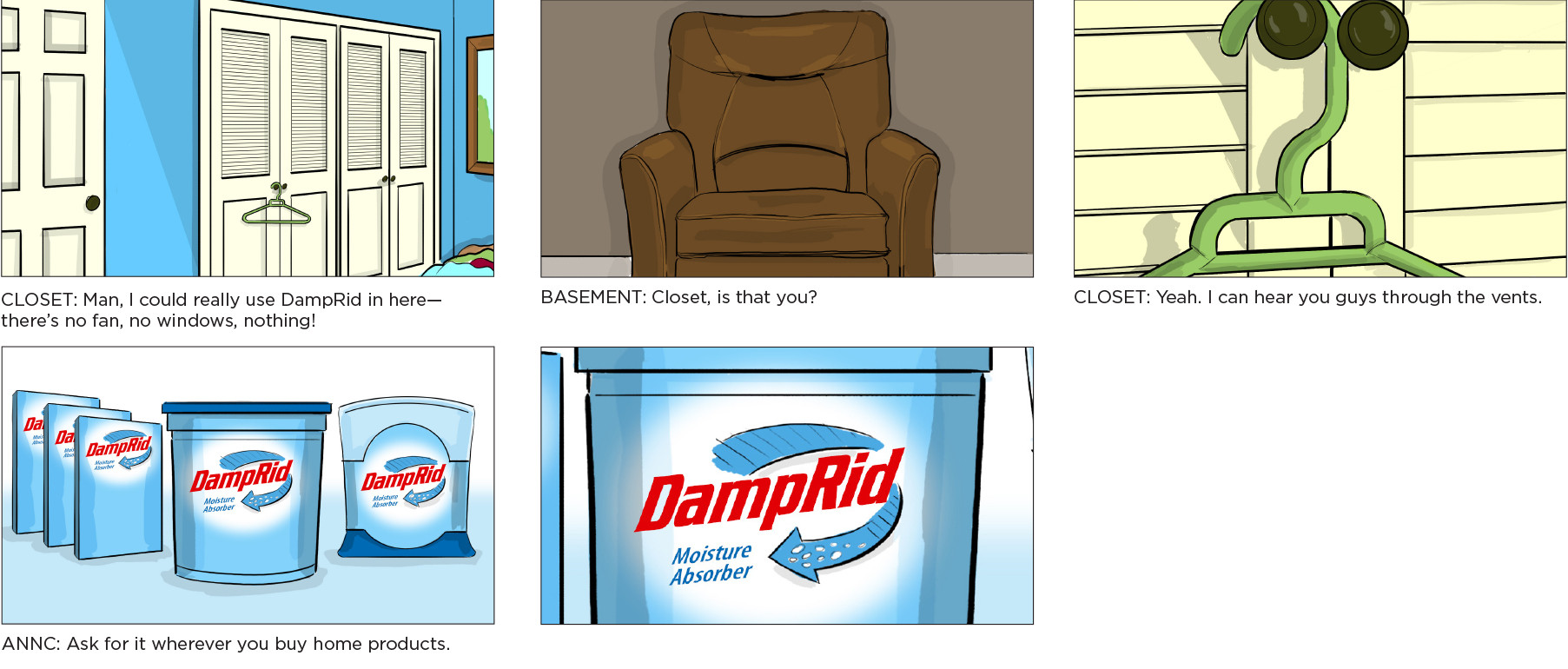 Damprid—If Rooms Could Talk, Part 2