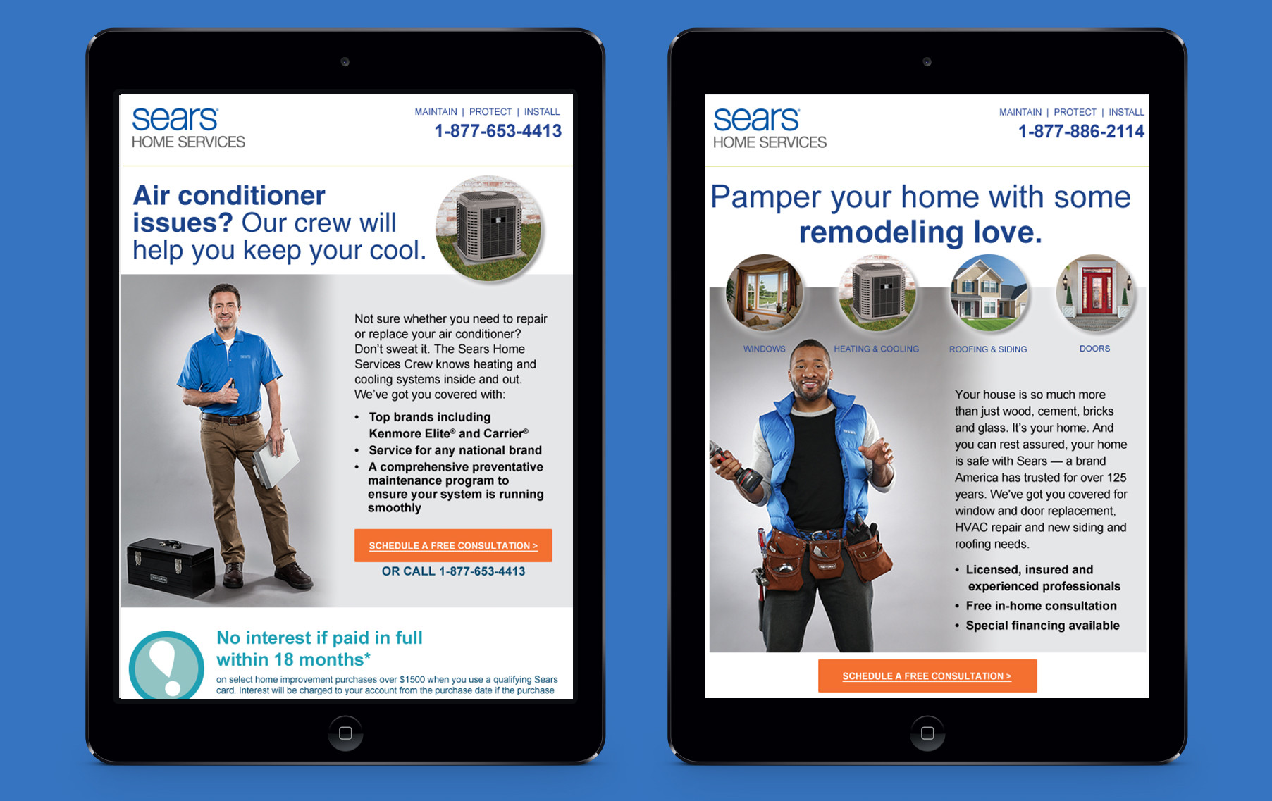 Sears Home Services Email