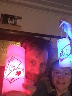 Nick & family: That was fun, lanterns 'r