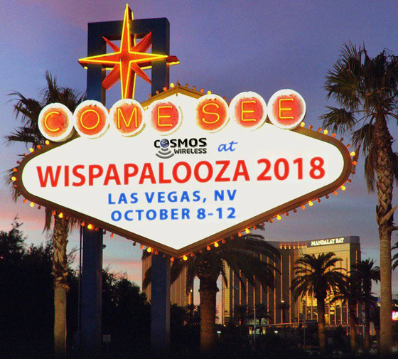 Cosmos Wireless 3rd year at Wispapalooza in Las Vegas!
