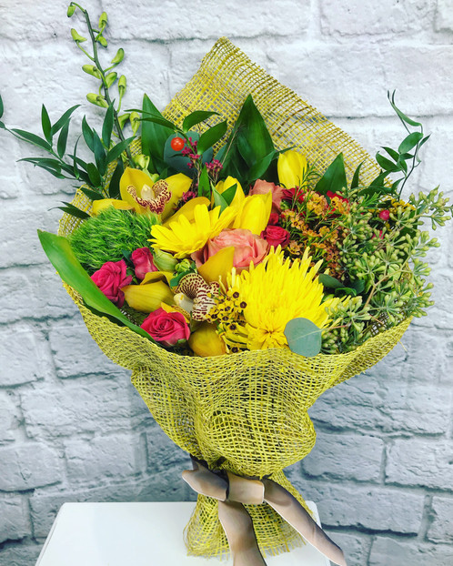 Mix Yellow bouquet
