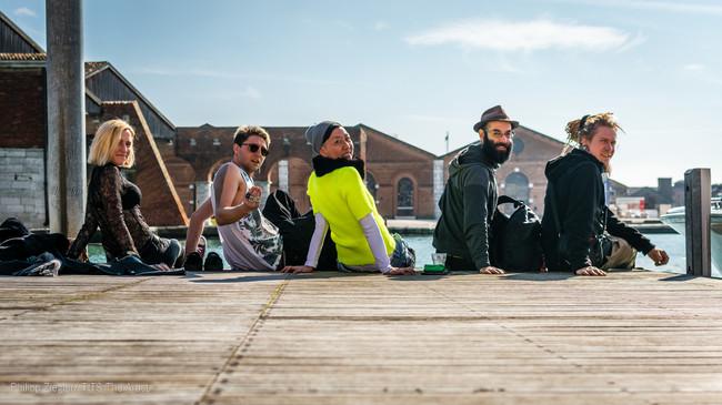 IA Crew in Venedig-Venice-Italien Marie,