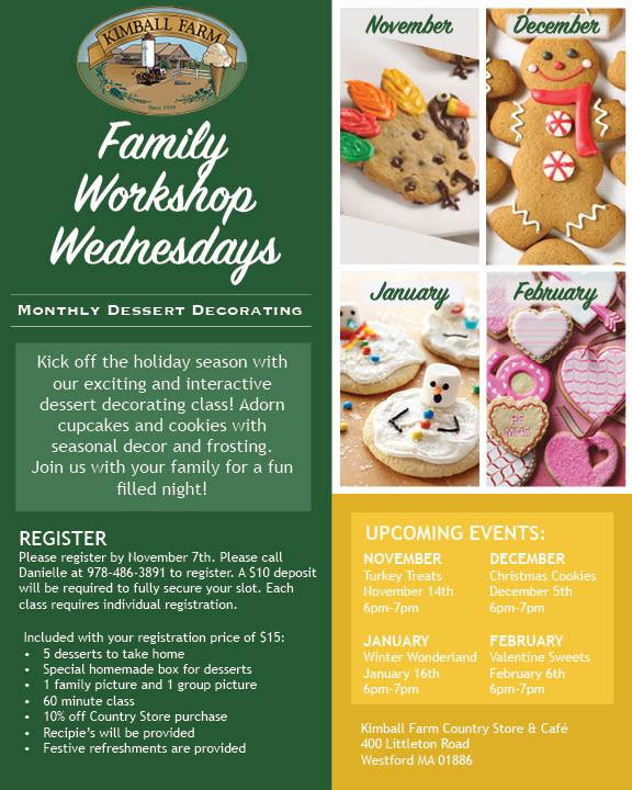 Family Workshop Wednesdays