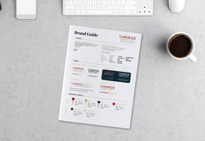 Brand One Page Mockup