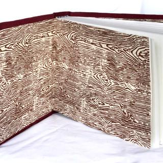 Inside book signature