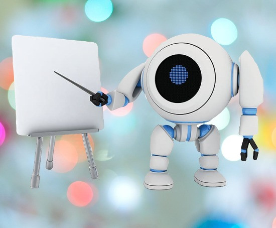 Robot teachers might be a grear achievement of Artificial Intelligence and Machine Learning.