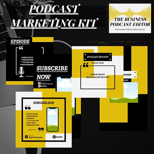 Podcast Marketing Kit